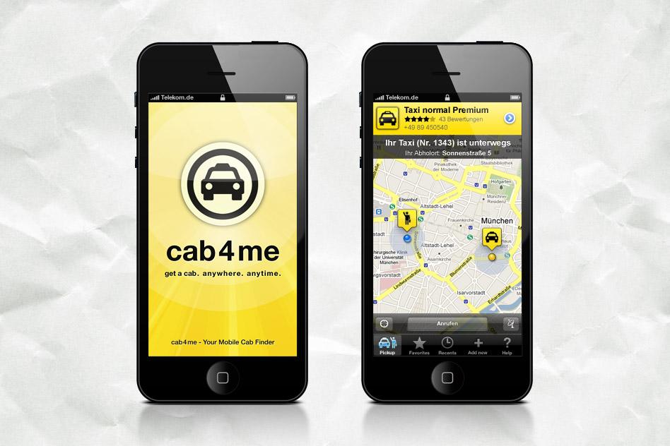 cab4me App 01