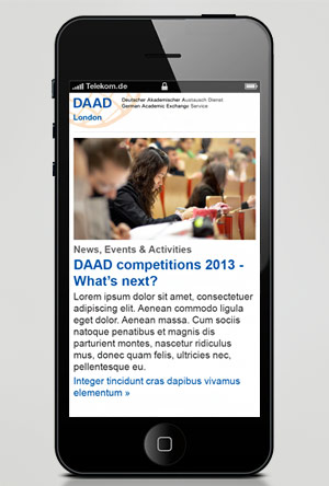 DAAD Newsletter 2013