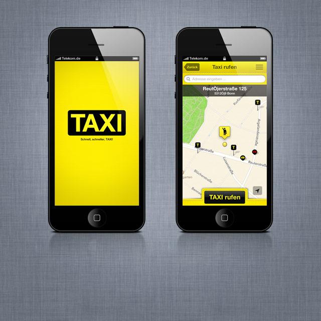 9d0d919647819c Ein Taxi rufen, ohne zu telefonieren. - snoopmedia