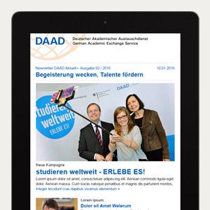 DAAD Newsletter - DAAD Aktuell
